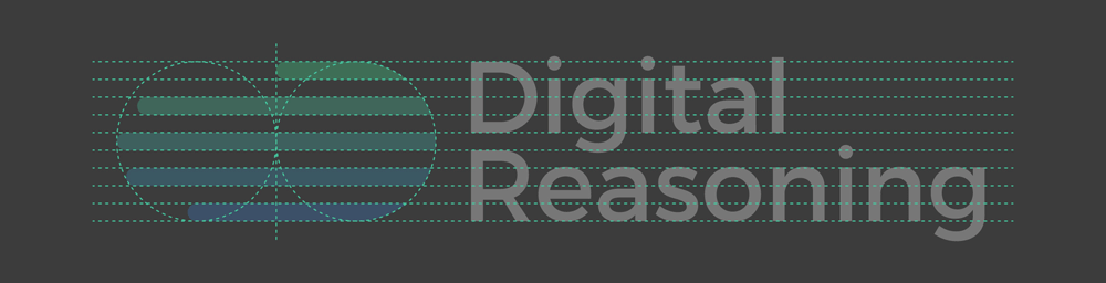New Logo and Identity for Digital Reasoning by Golden Spiral