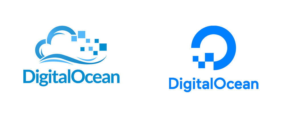 New Logo for DigitalOcean done In-house