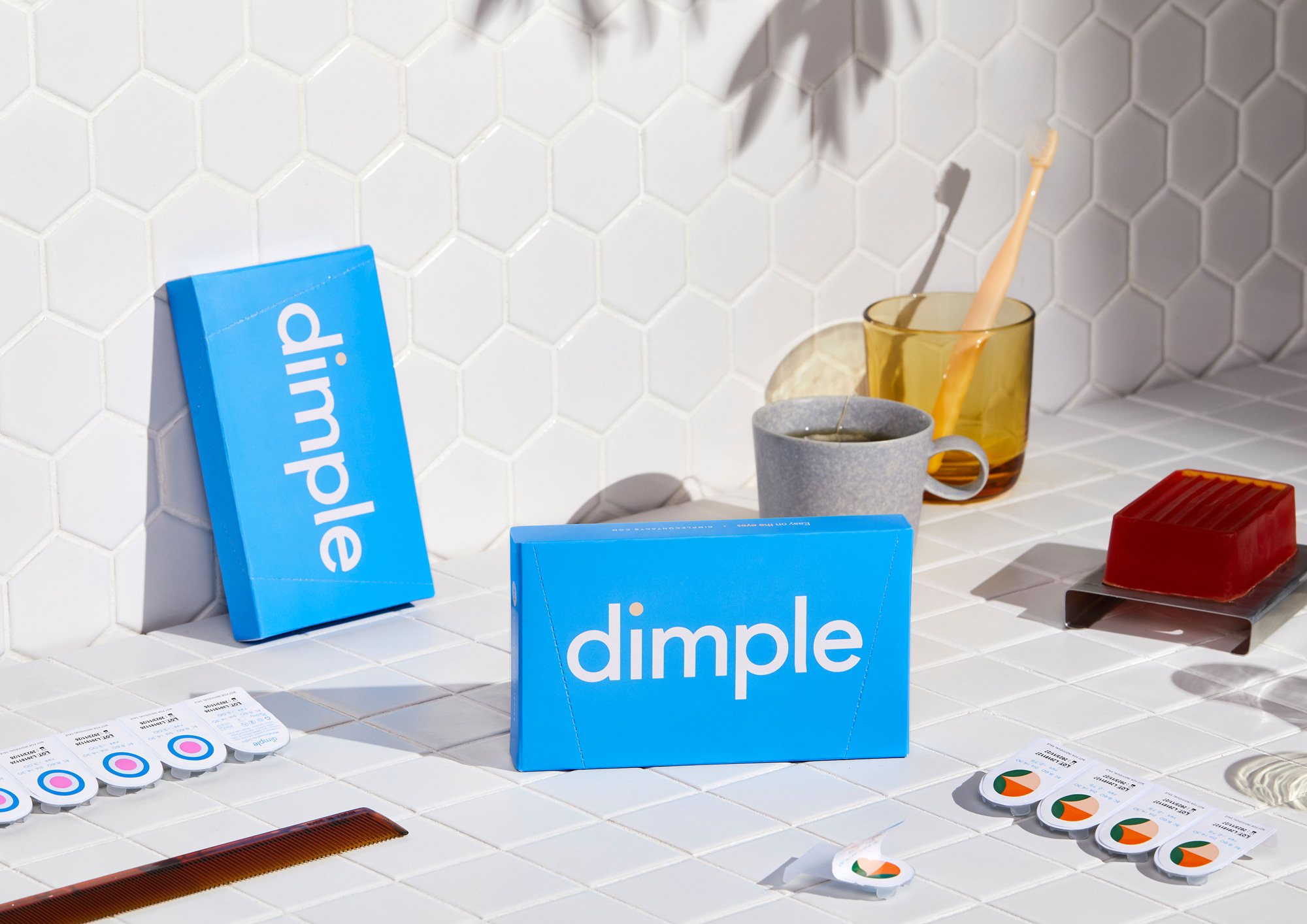 New Logo, Identity, and Packaging for Dimple by Universal Favorite