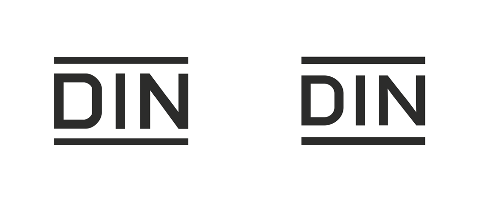 New Logo and Identity for DIN by Kleiner und Bold