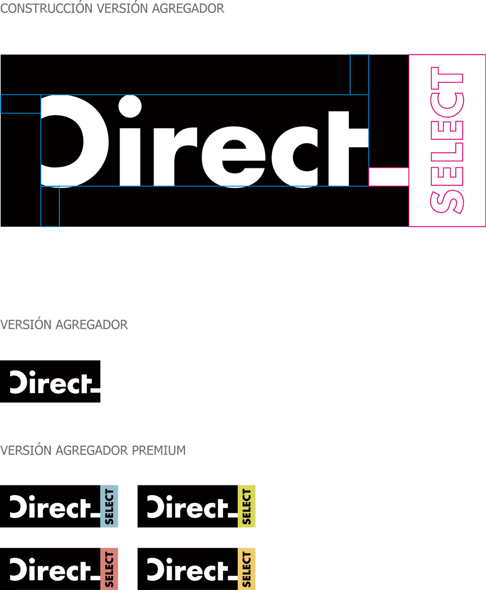 New Logo and Identity for Direct by Interbrand