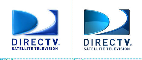 DirecTV Logo, Before and After