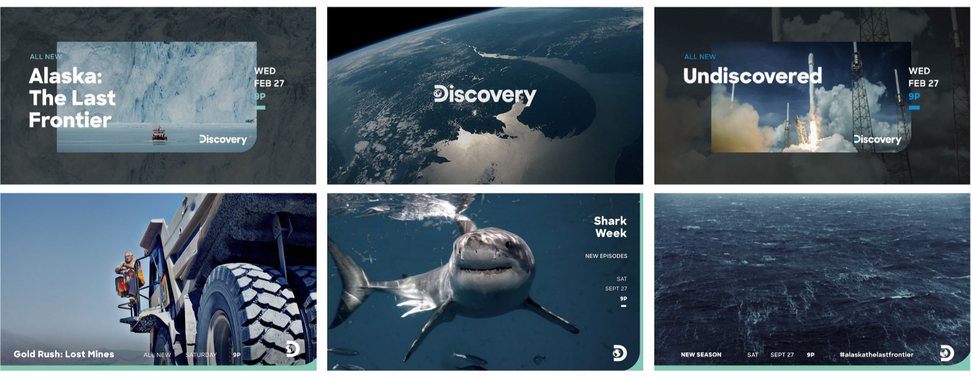 Follow-up: New Logo, Identity, and On-air Look for Discovery Channel by Roger