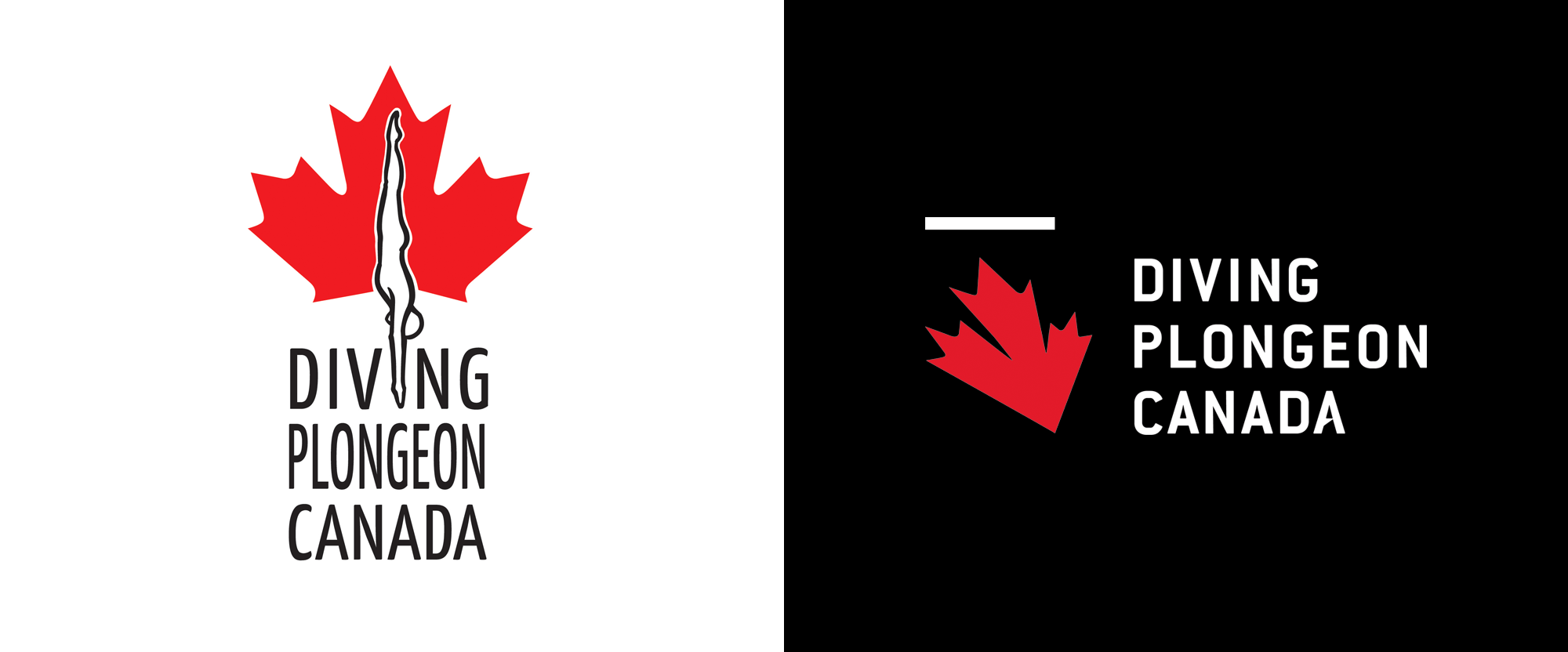 New Logo for Diving Plongeon Canada by Godzspeed
