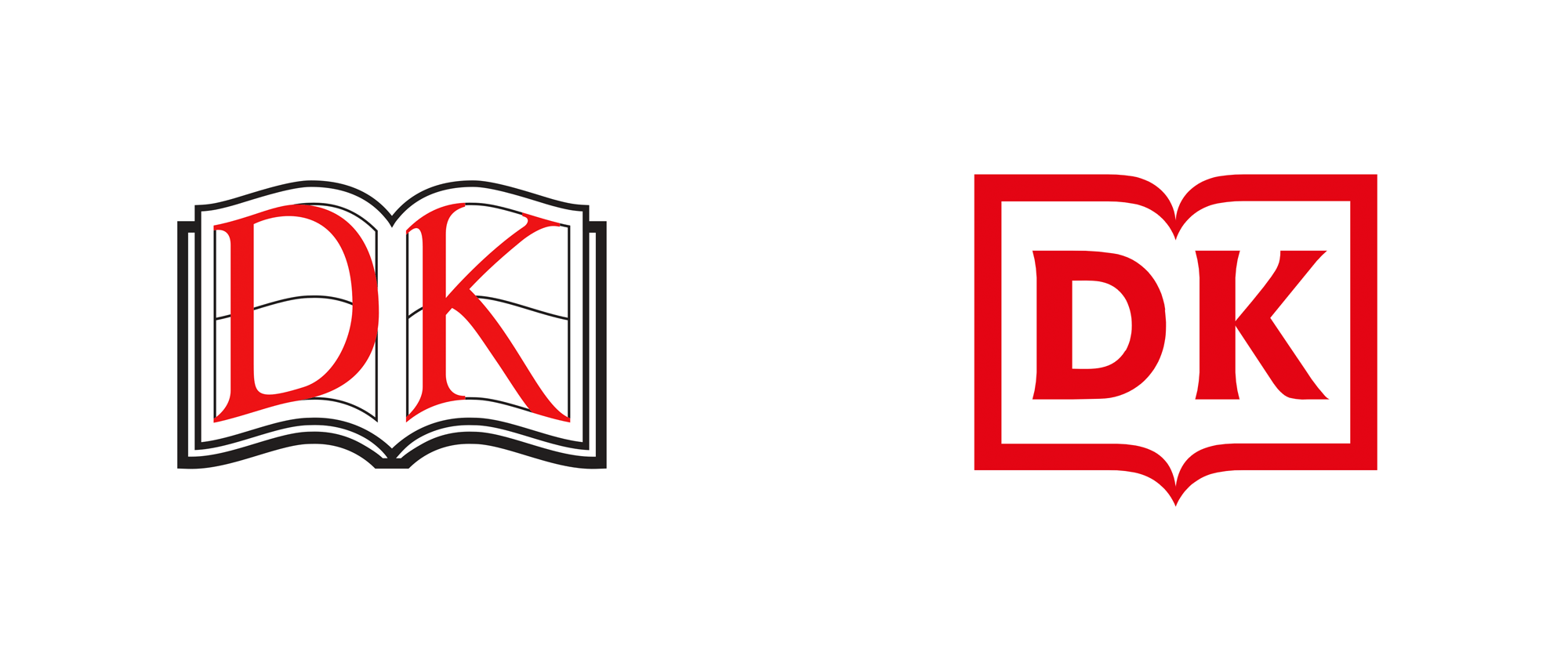 New Logo for DK by Pentagram