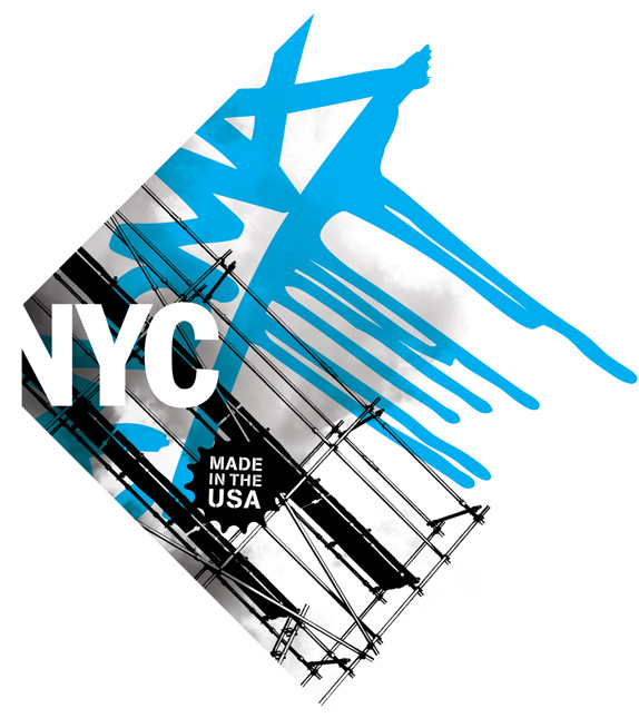 Destination NYC Logo, Identity, and Web Materials