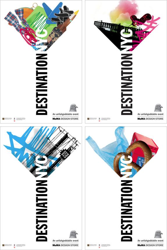 Destination NYC Logo, Identity, and Web Materials