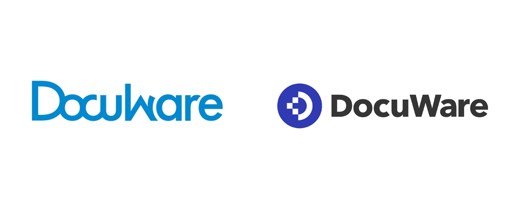 New Logo and Identity for Docuware by LESS+MORE