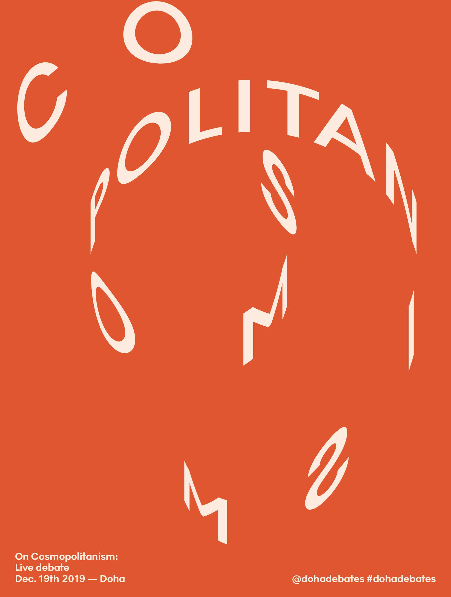 New Logo and Identity for Doha Debates by e-Types