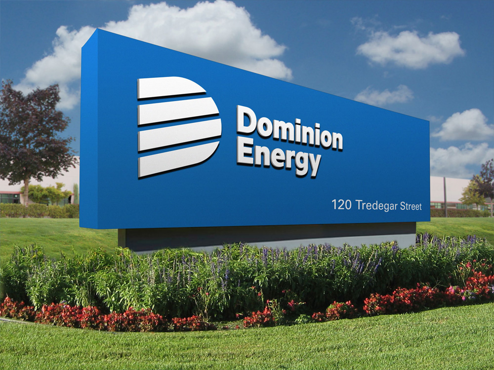New Logo for Dominion Energy by Chermayeff & Geismar & Haviv