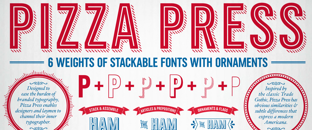 Brand New: New Custom Type Family for Domino's Pizza by