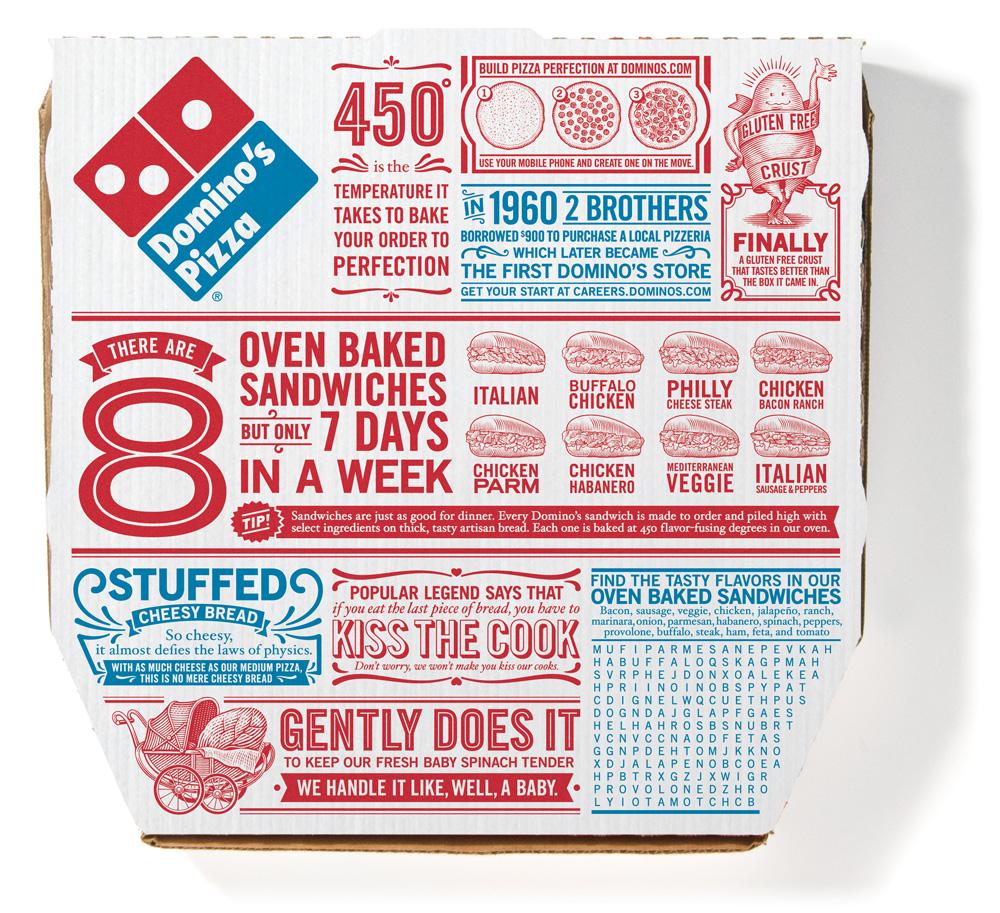 Domino S Pizza Graphic Design
