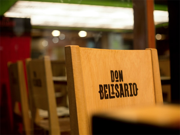 Don Belisario Restaurant Logo and Identity
