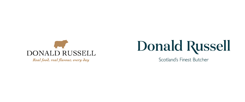 New Logo and Identity for Donald Russell by Conran Design Group