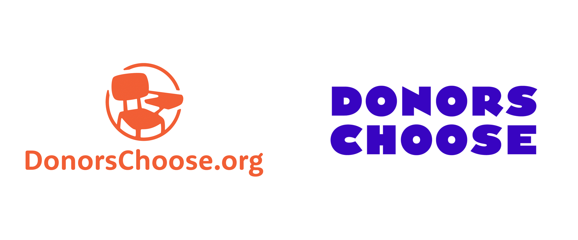 New Logo and Identity for DonorsChoose by Hyperakt