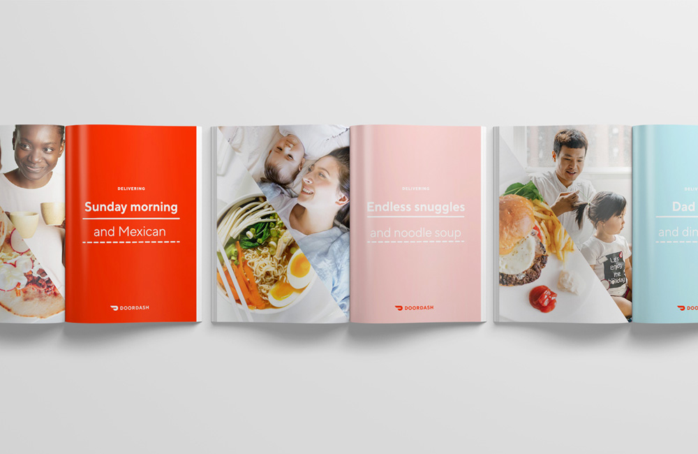 New Logo and Identity for DoorDash by Character