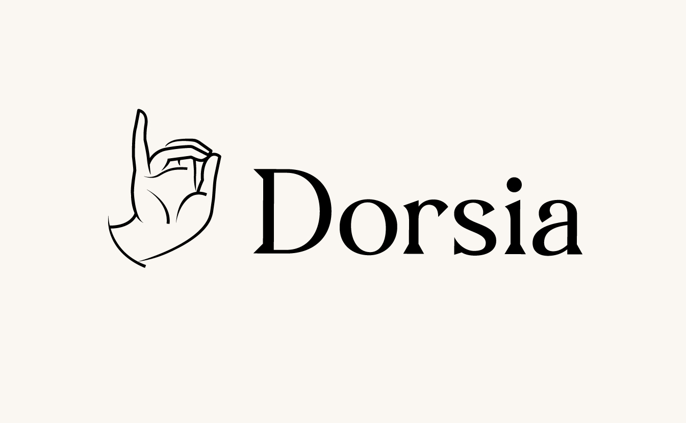 New Logo and Identity for Dorsia by ueno