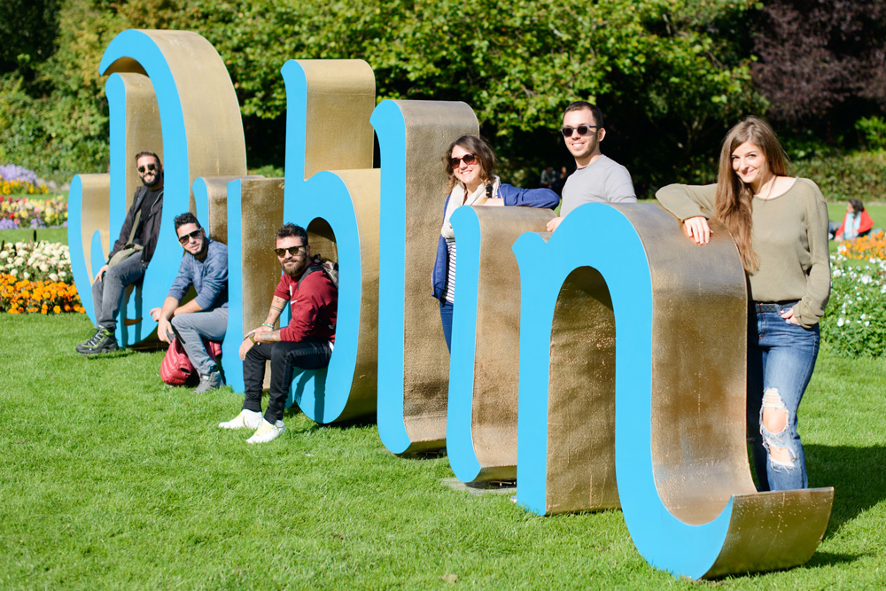 New Logo for Dublin Tourism by Annie Atkins