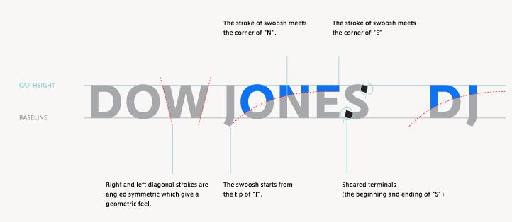 New logo and identity for Dow Jones by STUDIO NEWWORK