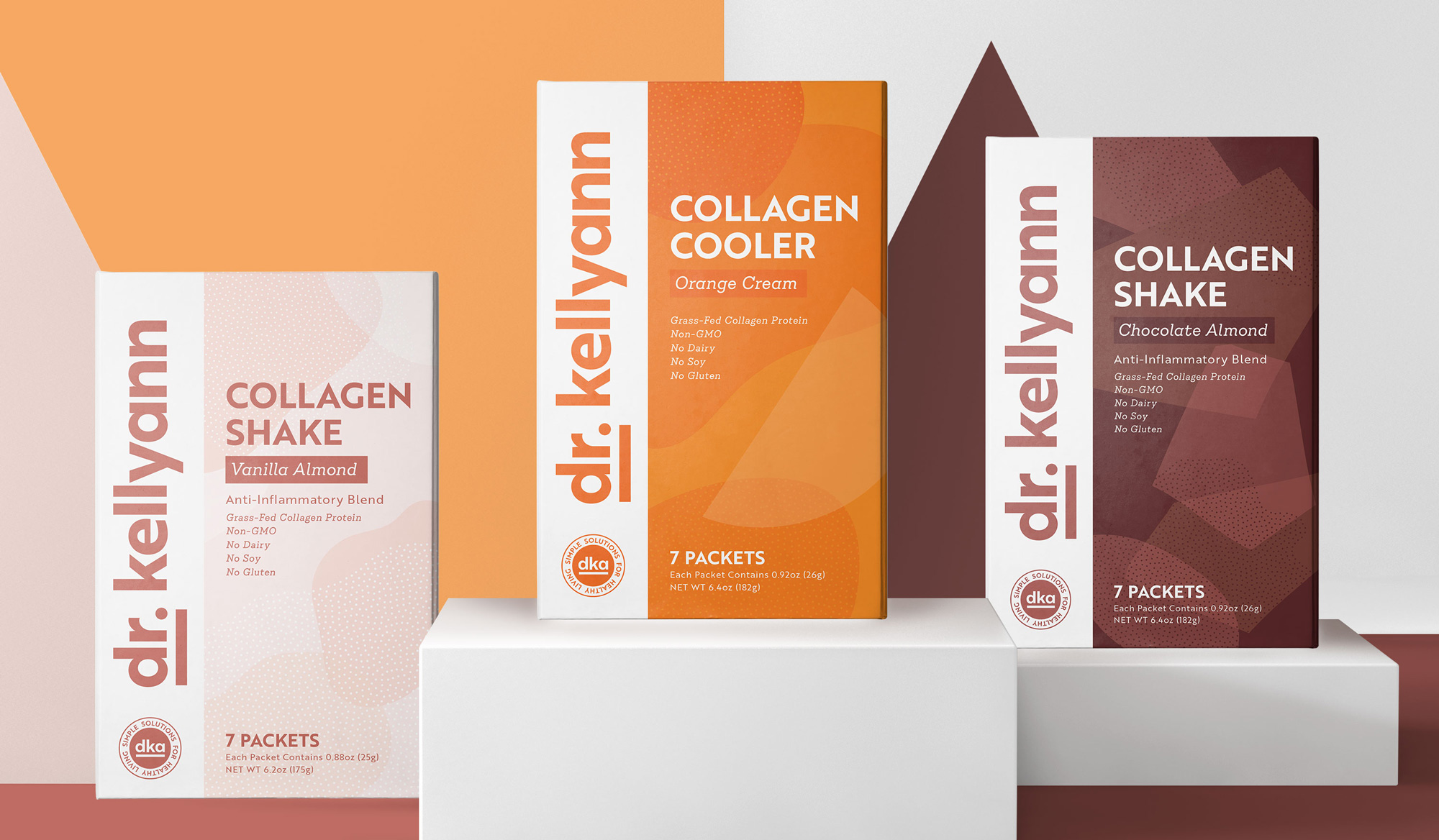 New Logo and Packaging for Dr. Kellyann by Lobster Phone