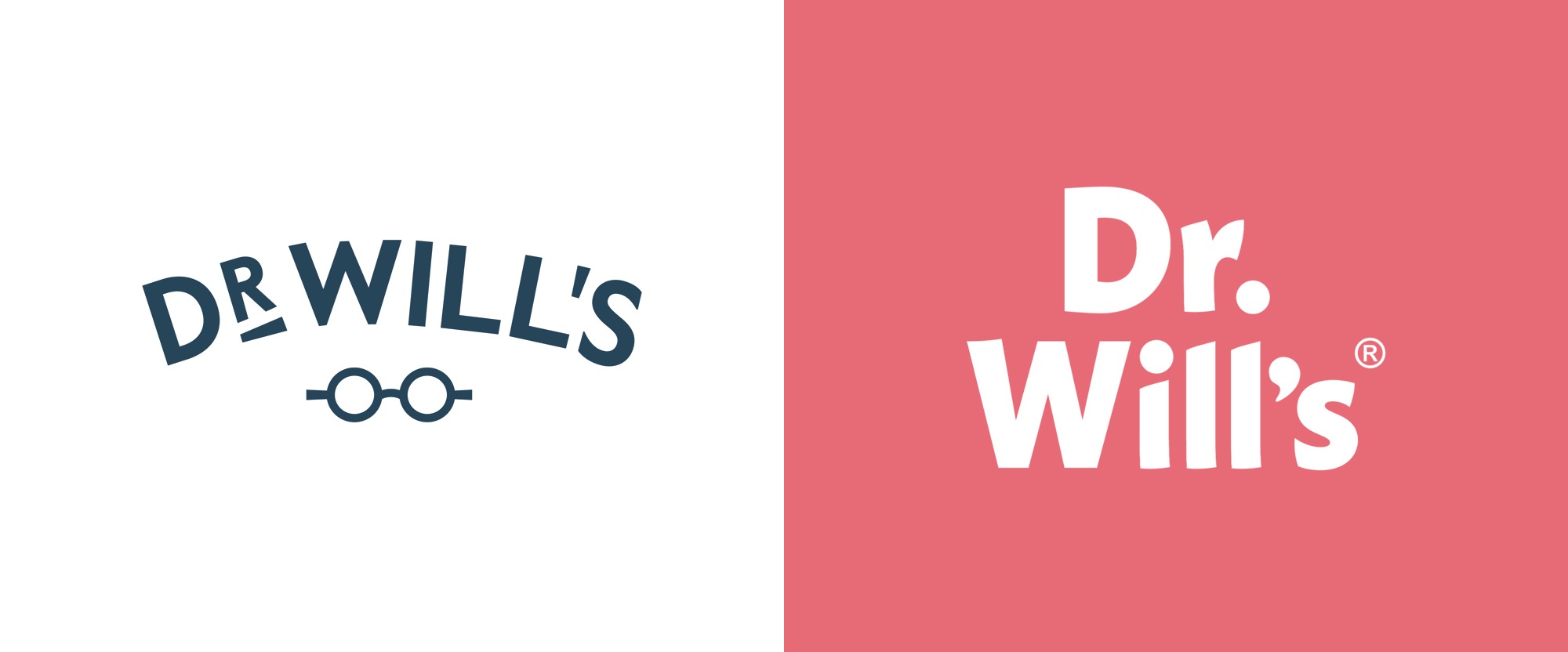 New Logo and Packaging for Dr Will's by B&B Studio
