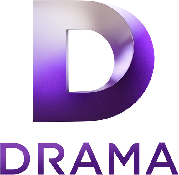 brand new new logo and idents for drama tv by dixonbaxi