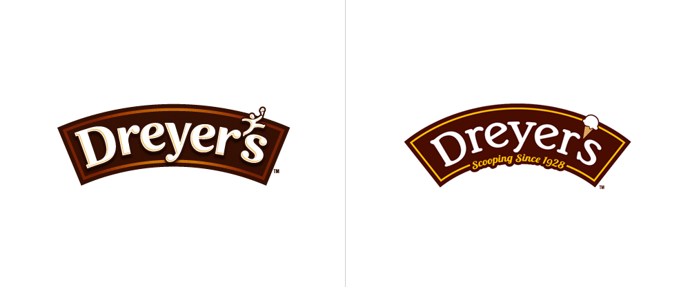 New Logos and Packaging for Dreyer's and Edy's Ice Cream by Sterling Brands
