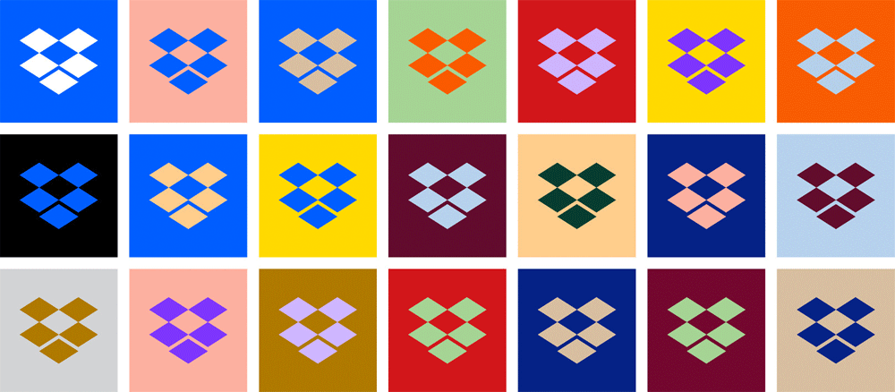 New Logo and Identity for Dropbox by Collins and Dropbox Brand Studio