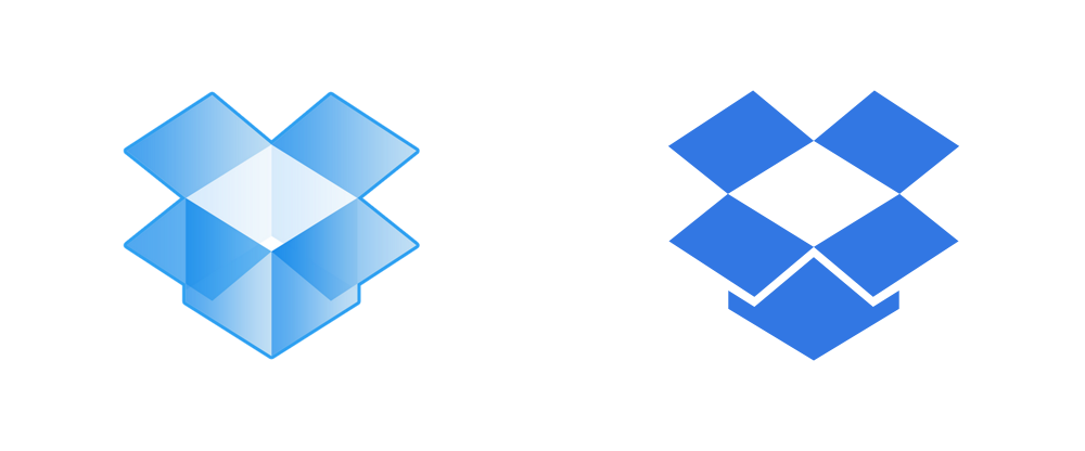 New Logo for Dropbox