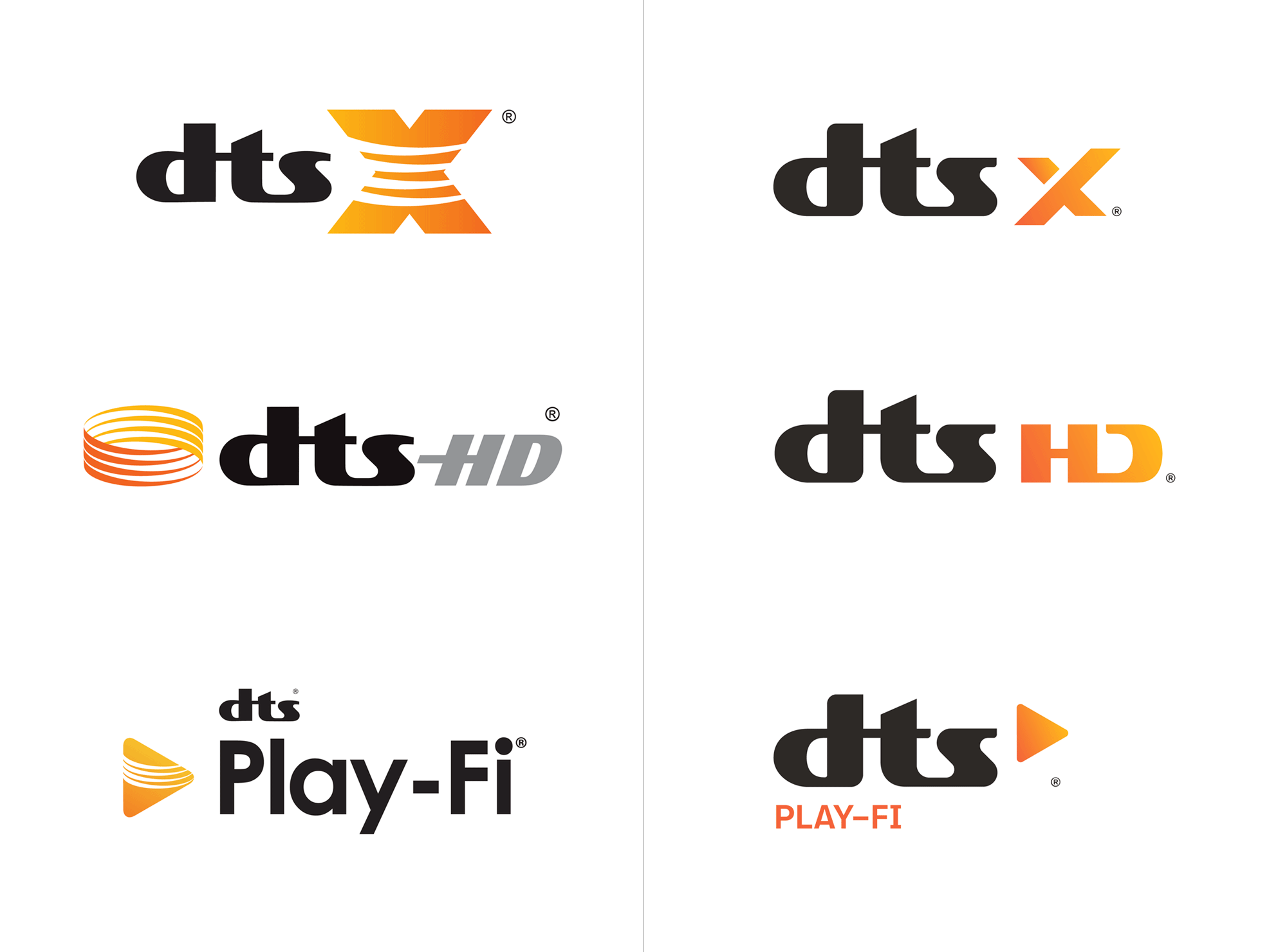 New Logo and Identity for DTS by Marchio