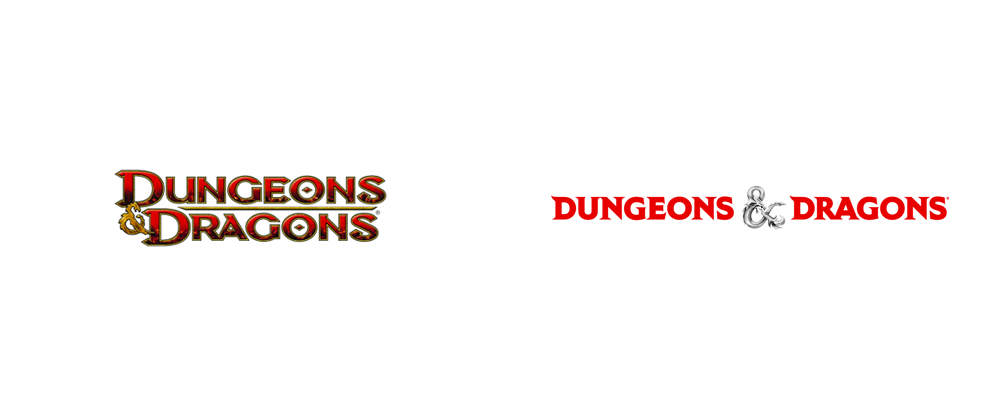 New Logo for Dungeons & Dragons by Glitschka Studios