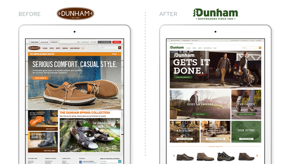 New Logo and Identity for Dunham by Beardwood&Co.