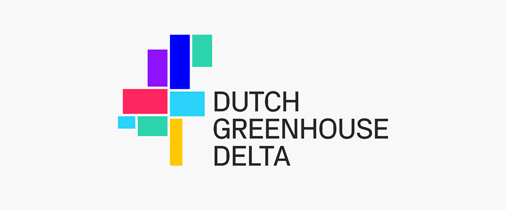 New Logo and Identity for Dutch Greenhouse Delta by Total Design