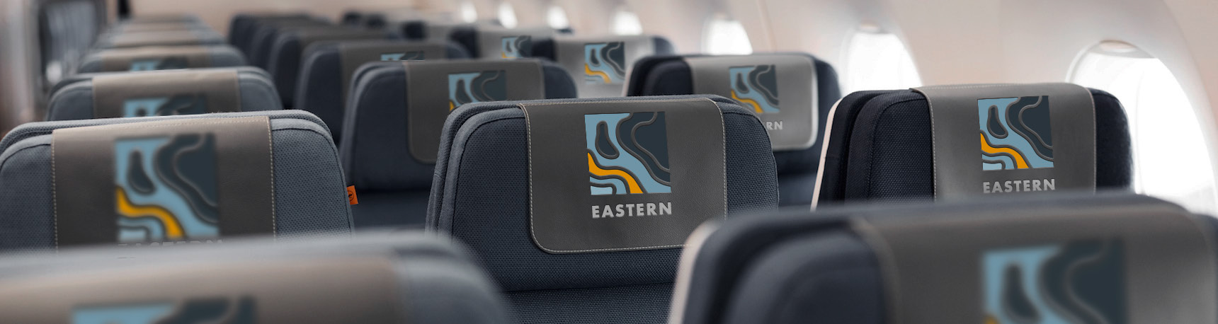 New Logo, Identity, and Livery for Eastern by Mechanica