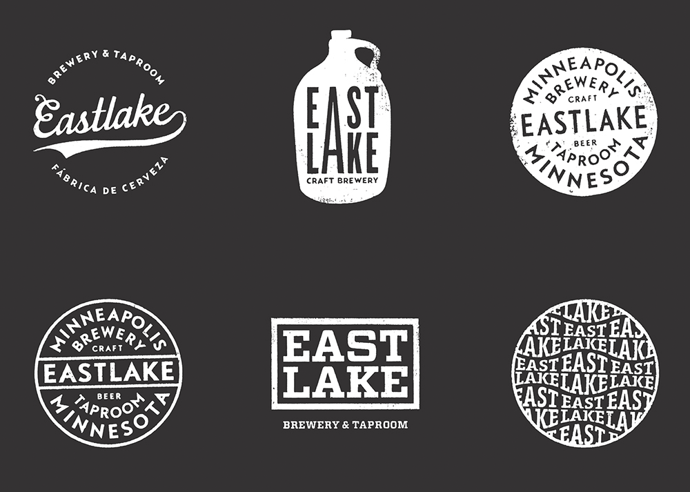 New Logo and Identity for Eastlake Brewery & Tavern by Rice Creative