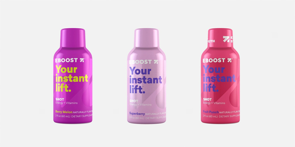 New Logo and Packaging for EBOOST by Gander