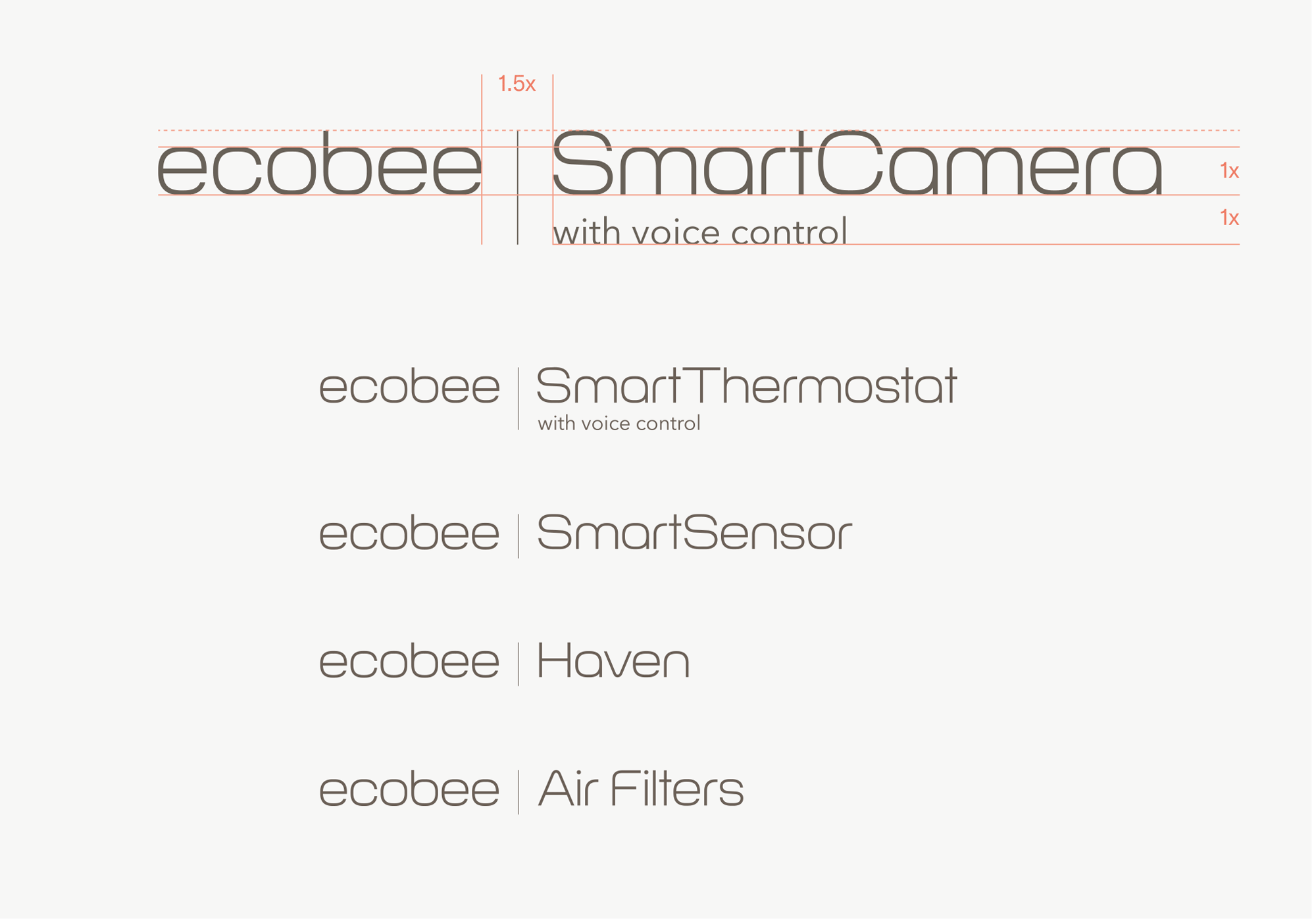 Brand New  New Logo And Identity For Ecobee
