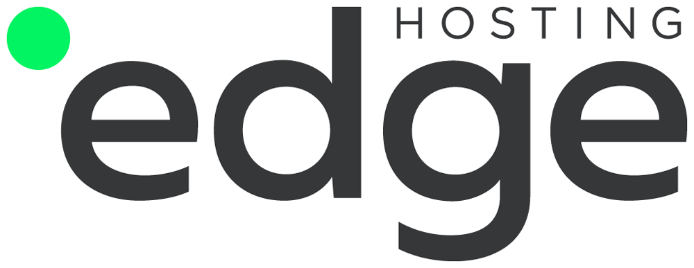 New Logo and Identity for Edge Hosting by Necon