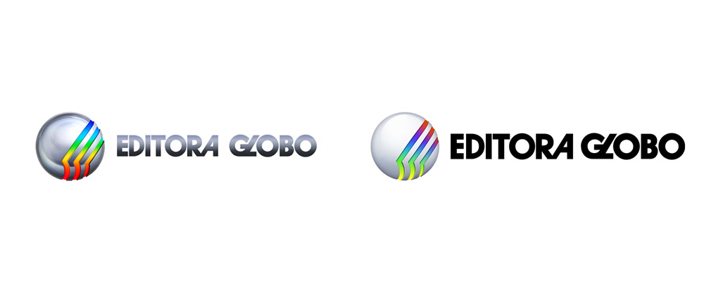 New Logo and Identity for Editora Globo done In-house