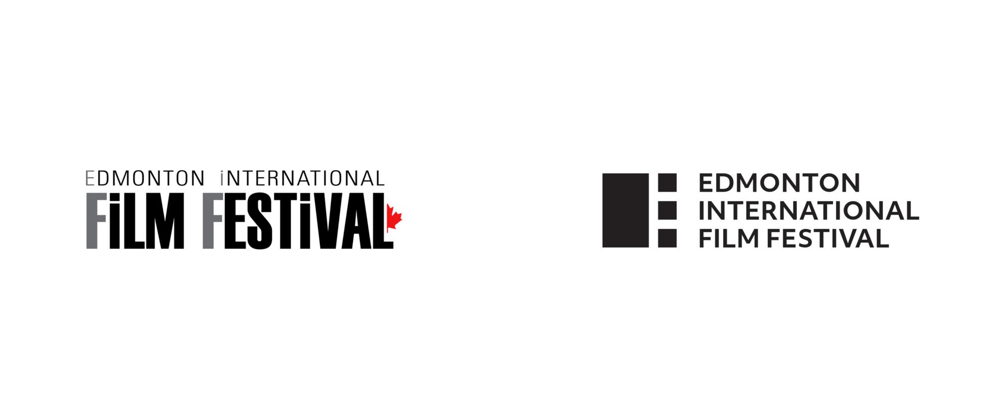 New Logo and Identity for Edmonton International Film Festival by FKA