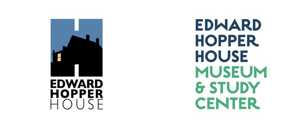 New Logo and Identity for Edward Hopper House by Carbone Smolan Agency