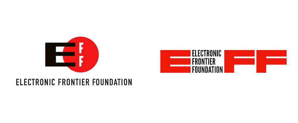 New Logo for Electronic Frontier Foundation by Pentagram