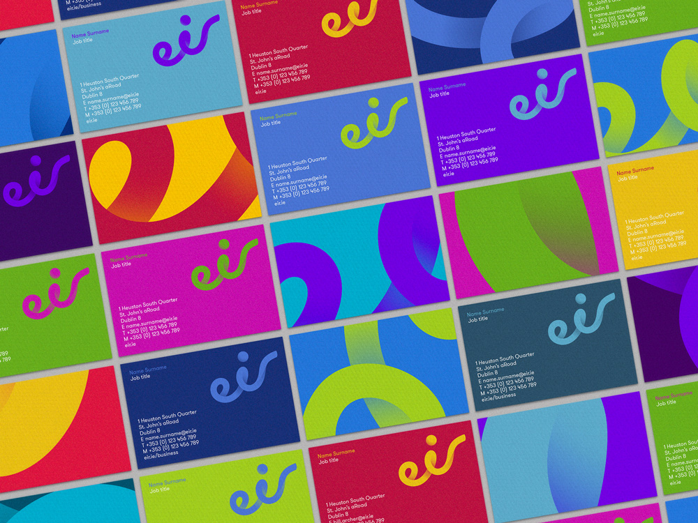 New Name, Logo, and Identity for eir by Moving Brands