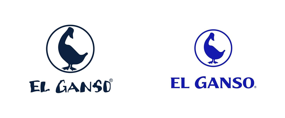 New Logo and Identity for El Ganso by We Are Small