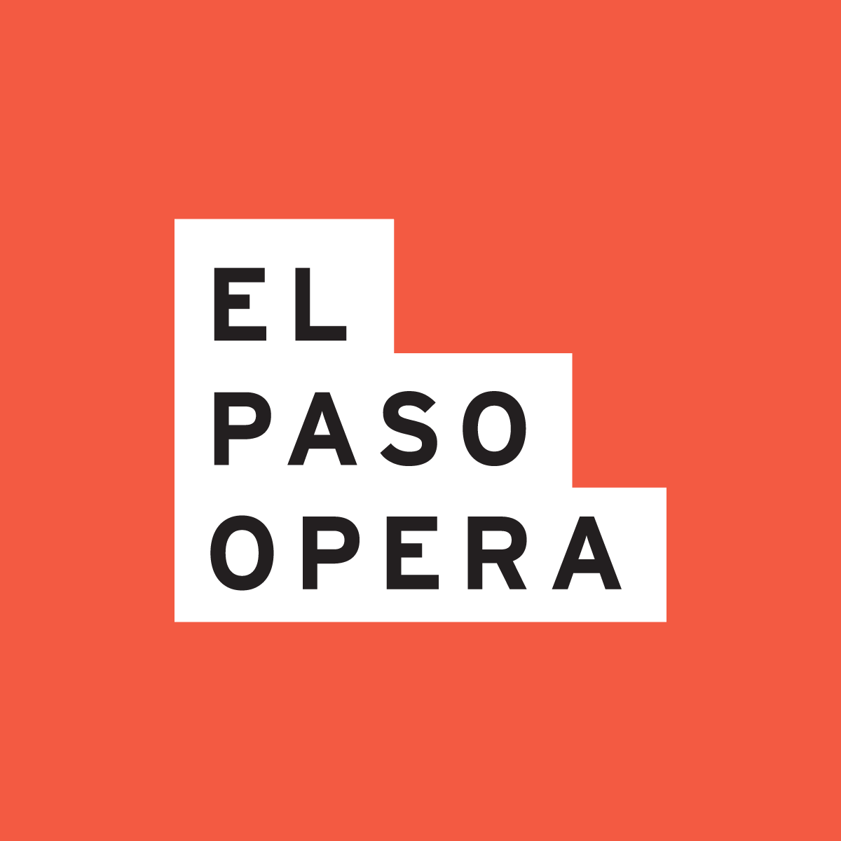 New Logo and Identity for El Paso Opera by Mast