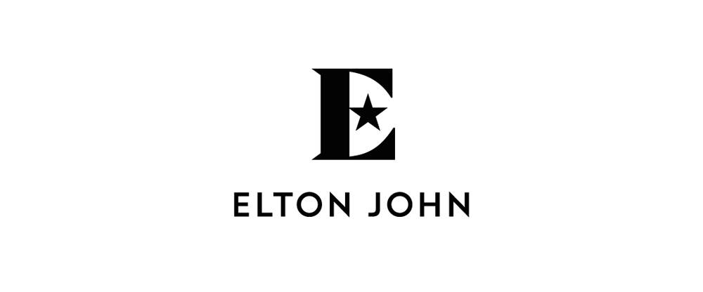 New Logo and Identity for Sir Elton John by George Adams