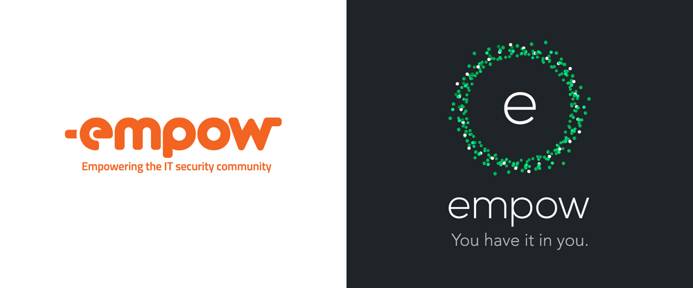 New Logo and Identity for Empow by Oi!