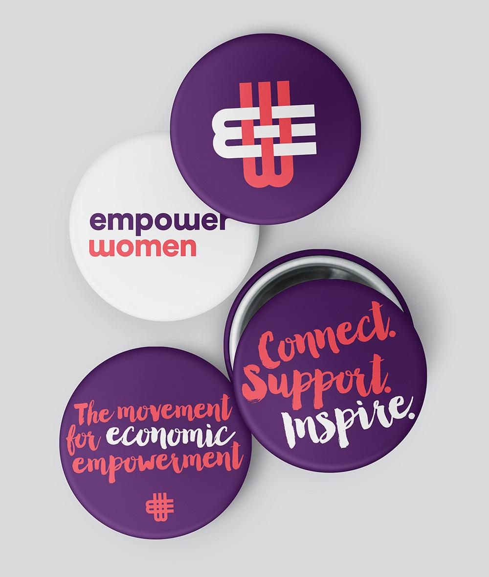 Brand new new name logo and identity for empower women by new name logo and identity for empower women by ultravirgo biocorpaavc