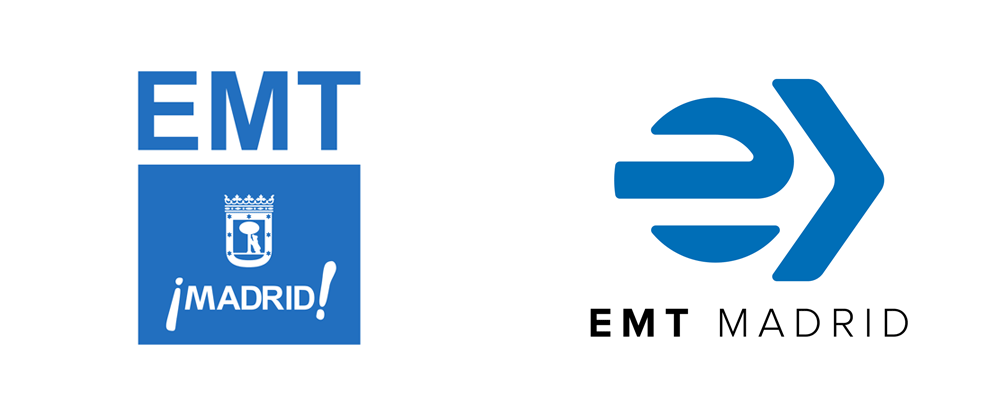 New Logo for EMT Madrid