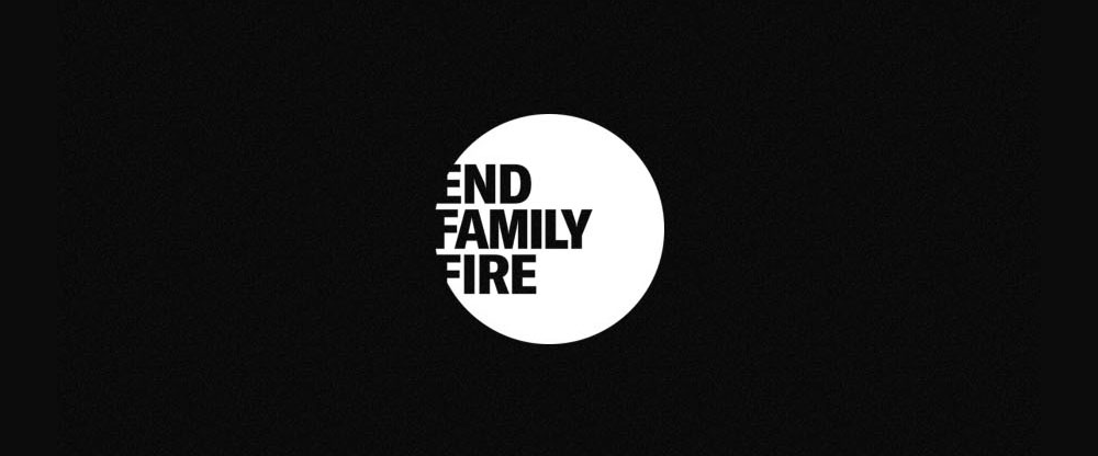 New Logo for End Family Fire by Droga5